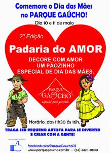 Dia das Mães é no Parque Gaúcho